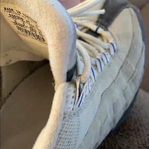 Nike Shoes - Air max 95 worn with sole damage
